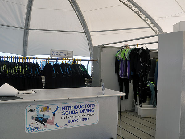 Lycra suits & wetsuits for hire