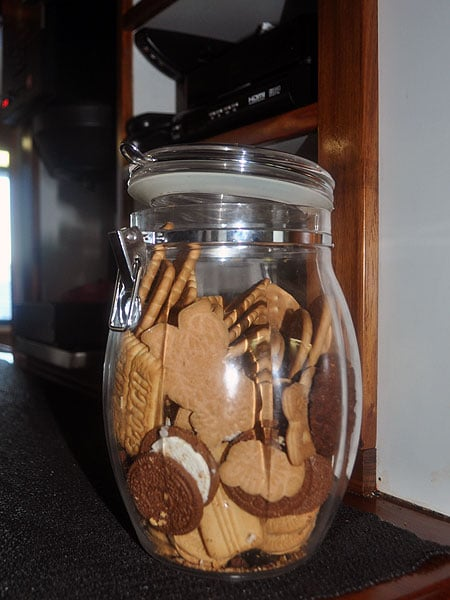 Grab a biscuit from the never-ending jar
