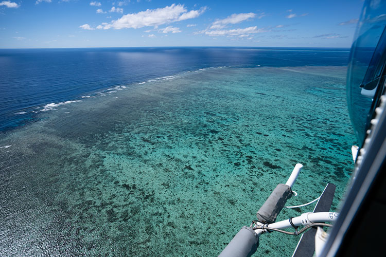GBR Helicopter Reef Flight