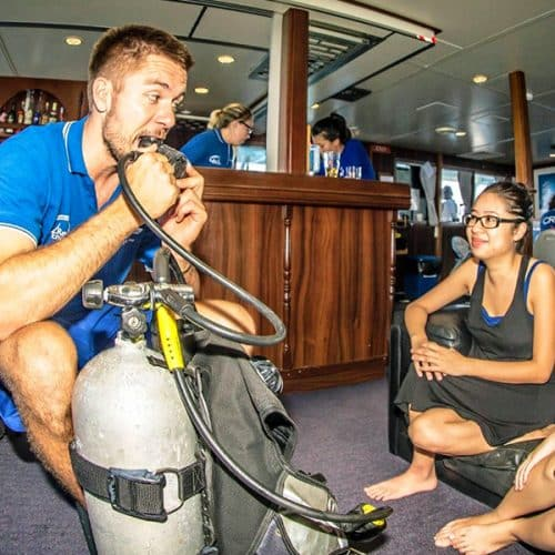 Dive Gear Lessons with Instructor